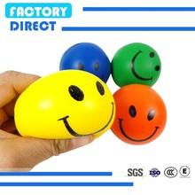 smile pu foam stress ball