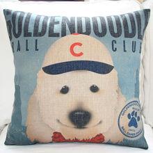 cute dog sofa cushion