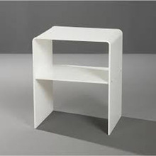 White acrylic desk/table
