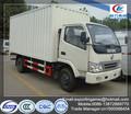 Dongfeng diesel ondulado caixa seca caminhão fabricante na China