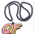 nuevo diseñador de la venta caliente de hip hop colgante de la cadena de personalidad personalizado collar de buena madera