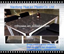 laminated plastic table cloth,pvc furniture decoration material