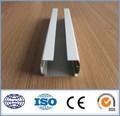 alta qualidade de fabricação personalizados em alumínio canal u perfil