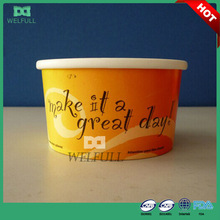 16oz Hot Sale Disposable Paper Cup Personalized Ice Cream Cups