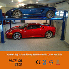 Parking Used 4 Post Hydraulic Parking Four Post Classic Car Lift