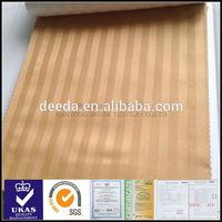 1cm stripe white cotton fabric for hotel bedding set