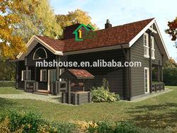 Countryside villa / resort villa / Well designed luxury china prefabricated homes