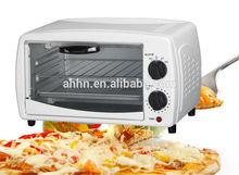 """9L mini pizza oven mini oven hold 11"""" pizza white color"""