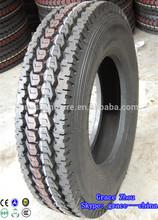 Radial truck tire 295/75r22.5 tread pattern depth 22.5 mm