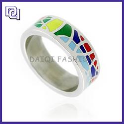 Hot Style Energy Men's Ring 2014,Custom Colorful Stainless Steel Men's Ring,Cheap Masonic Ring