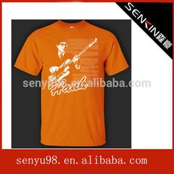 Korea wholesale cartoon picture guitar t-shirt