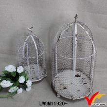 decorative vintage metal cage bird craft manufacture