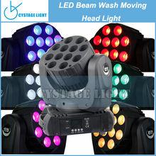 DJ Club 12x10W 4 in 1 CREE LED Beam Moving Head Lights