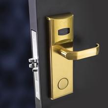 2014 digital hotel door lock mag stripe card lock