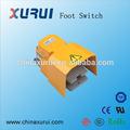 Botón de interruptor de aluminio / eléctrico de parada de inicio / médica interruptores de pie