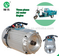 Vender elétrica ac motores modernos para triciclo elétrico/riquixás/três rodas para passageiros