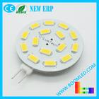 g4 led bulb 15smd 5630 sidepin or backpin g4 led light