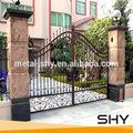 baratos de hierro forjado puertas diseños para los modernos modelos de la puerta
