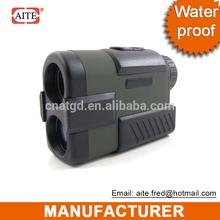 water proof 6*24 400mt Laser Golf rangefinder golf ball shaped bag