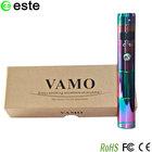 2014 Newest hot sales e cig vamo 22650 battery vamo v5 Mechanical Mod Ecig rainbow color with China wholesales