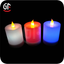 China supplier Sensor light Color Changing Halloween Led Candle Light