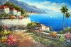 Handmade wall art supplies- beautiful landscape oil painting