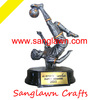 Sanglawn crafts football trophy resin figures good quality best price