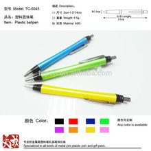 korean stationery hot sell decorative plastic ballpoint pen