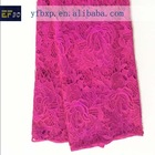 2014 best quality african chemical lace fabric/ nigerian lace for ladies suits in turkey