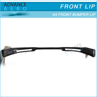 FOR 06-08 AUDI A4 B7 ABT STYLE PU FRONT LIP SPOILER
