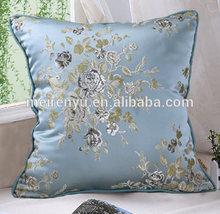 wholesale china tradition 100% silk Jacquard weave sofa cushion