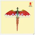 Petit dinosaure grandeur kite, dessin de allen kites