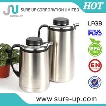 2014 fashion stainless steel enamel coffee pot (JSUD)