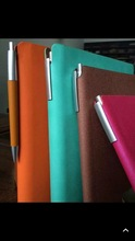 High Quality Recycled Paper Custom Notebook Pen Holder