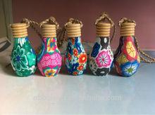 custom polymer clay Mini gifts hanging auto car air freshener