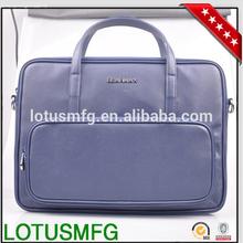 Custom Laptop Messenger Leather Shoulder Bag for Macbook Pro