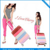 PC colorful luggage sets/ suitcases / ABS suitcase sets