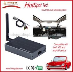 Hotspot Mirabox manufacturer, car screen plays as cell phones,pioneer car dvd player with gps