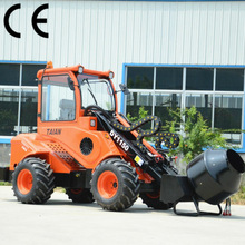strong power telescopic garden tractor DY1150, articulated small garden tractor front loader