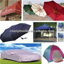 China Textile cheap polyester taffeta coated fabric samples free