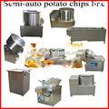 Produção de batata chips capacidade 120-150kg/h/batatas fritas congeladas