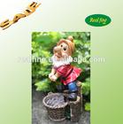 Factory made BIG resin garden miniature gnome