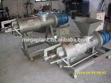 on chicken farm pig manure dehydrator machine/cow dung dewater machine