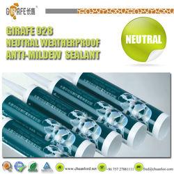 Kitchenware/sanitary ware/aseptic room GIRAFE high strength neutral weatherproof anti-mildew silicone sealer