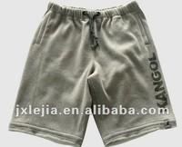 Jiangxi factory Online shop wholesale man french terry short pant