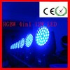 2014 New! Zoom led moving head wash 432W 12CH 4IN1 DMX512 RGBW led focus light