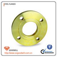 ductile iron 90 deg double loosing flanged bend