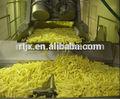 Semi- automática de batata frita tornando máquina/batatas fritas congeladas da linha de produção