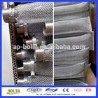 304 316 welding edge ss woven wire mesh filter tubes (hebei anping)