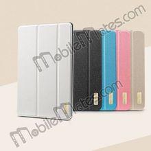 TakeFans Book Cover Case Stand Aluminum Alloy Leather Flip Case for iPad Mini 2/iPad Mini iPad 2/3/4 iPad Air